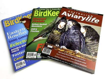 Bird magazines and books – excellent condition