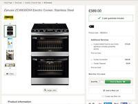 Top of range zanussi induction cooker