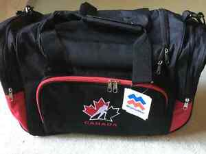 BRAND NEW TEAM CANADA DUFFEL BAG