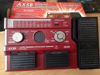Korg AX5B bass guitar processor