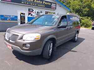 2008 Pontiac Montana extended sv6 well kept certified etested