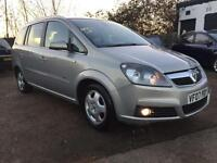 2007 Vauxhall Zafira 1.8i Design Leather Interior 12 Months Mot Service History