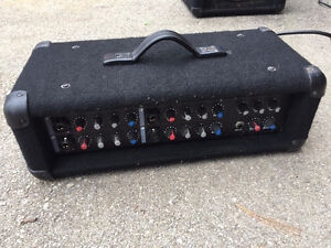 Crate Mixer PA System and Speakers