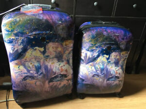 """NEW with Tags 2 pc Heys Luggage Set - 30"""" & 26"""" Fashion Spinners"""