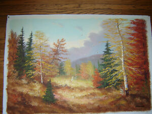 Oil paintings - various sizes -prices from $10 - $80 London Ontario image 1
