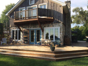 On-theWater Cottages for rent in Kingsville  - Pet Friendly