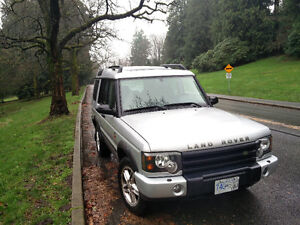 2004 Land Rover Discovery, Only 100,000 km