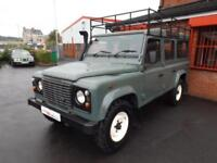 2010 59 LAND ROVER DEFENDER 110 2.4 TDI 110 STATION WAGON 5DR DIESEL