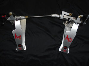 Axis X double longboards bass drum pedals
