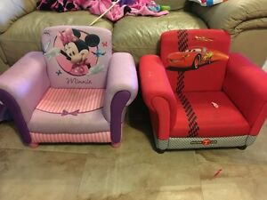 Cars & Minnie club chair