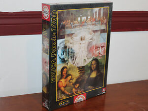 Da Vinci's World - 1000pc Jigsaw Puzzle by Educa Factory SEAL Edmonton Edmonton Area image 1