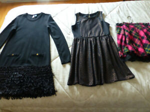 2 robes 12-14 ans marque U , occasions spéciales