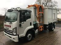 2011 ISUZU F110.210 Euro 5 Terberg tipping side loader, 70 kms