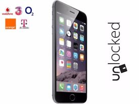 Apple iPhone 6 Smart Phone - Black - Unlocked - 64GB
