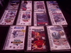 Selling Sega Saturn Games