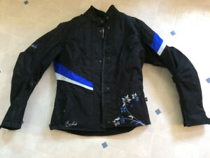 Women's Joe Rocket Motorcycle Jacket, Size medium