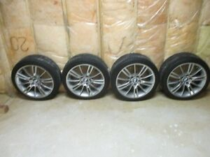 "BMW 18"" M Spider with Michelin Pilot Sport run flats - used"