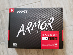 Msi armor rx 570 4gb gaming video card