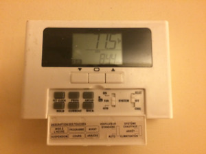 programmable thermostats.