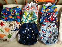 Cloth diapers and cloth trainers