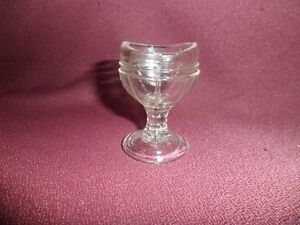 Vintage Glass eye Washer Cup