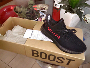 Yeezy 350 v2 BRED US 9 Brisbane City Brisbane North West Preview