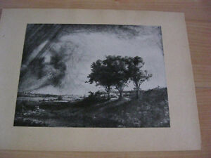 Print of etching and prints from Rembrandt Kitchener / Waterloo Kitchener Area image 1