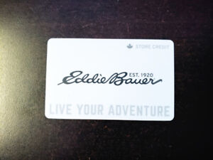 selling Eddie Bauer store gift card