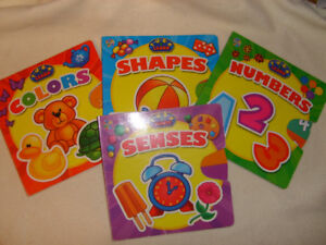 Turn & Learn Books - Colors Shapes Numbers and Senses