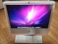 "2Ghz 24"" DualCore White Apple iMac 2Gb 500GB Ableton 9 Microsoft Office Suite Logic Pro Final Cut"