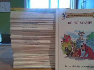 30 livres collection Mes premières rimes avec Disney-Grolier