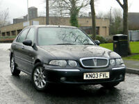 2003 03 Rover 45 2.0 TD Impression S 5dr WITH LONG MOT:JAN 2018+DRIVES EXCELLENT