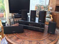 Speaker system and av receiver