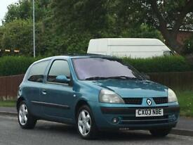 Renault Clio 1.2 16v Dynamique,FULL MOT,LOW TAX,LOW INSURANCE
