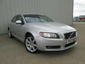 2007 (57) VOLVO S80 2.4 SE D5 SPORT 185BHP DIESEL AUTOMATIC FULL LEATHER