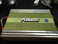 Used Fusion FE-300d car power stereo amplifier