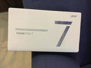 """BRAND NEW Acer 7"""" Iconia One Android Tablet"""