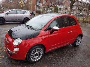 2012 Fiat 500 Sport Toit Ouvrant NOUVEAU PRIX NÉGOCIABLE