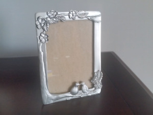 Seagull Pewter Lovebirds Picture Frame