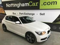 2013 63 BMW 1 SERIES 2.0 116D SPORT 5D AUTO 114 BHP DIESEL