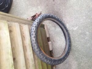 Dirt bike front tire