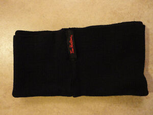 Brand new Tim Hortons black cable knit neck warmer London Ontario image 3