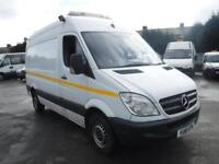 MERCEDES SPRINTER 313 CDI MWB White Manual Diesel, 2011