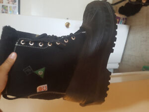 Terra Steel Toe winter boots. Size 9 mens.Acid and Oil resistant