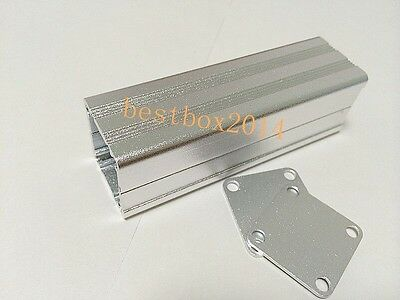 Diy Metal Extruded Aluminum Pcb Project Box Enclosure Electronic Case 80x25x25mm