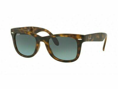 Ray ban Plegable Wayfarer Rb4105 894/3M 50 Mate Havana Azul Gafas de...