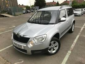 2013 (13) Skoda Yeti 1.4 TSI S SUV 5dr Petrol 6 Months Warranty Included