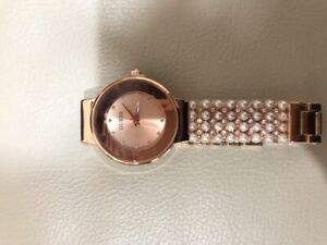 Brand new Guess watch with pearls