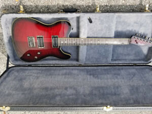 FENDER TELECASTER 2012 CHERRY BURST - SPLIT PICKUPS- Negotiable