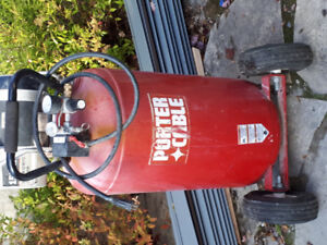 1.9 hp Porter Cable compeessor for sale
